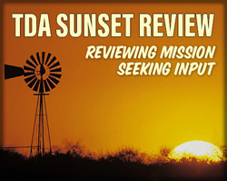 TDA Sunset Review